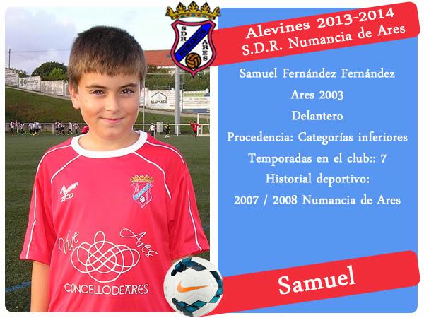 ADR Numancia de Ares. SAMUEL