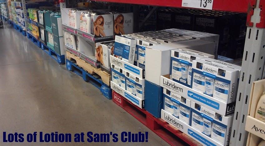 Shopping for NIVEA at Sam's Club