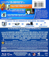 happy feet 2, 3d, bluray, combo, back, cover, image