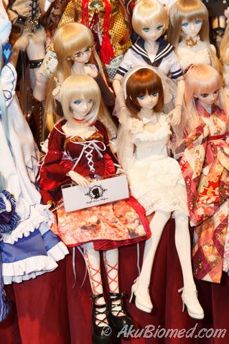 patung cosplay