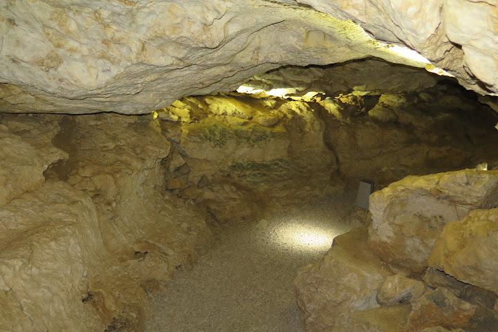 So tief im Fels ist es ganzjährig besonders kühl
