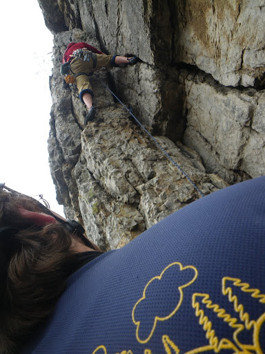 No spring is complete without a little climbing double double at Seneca Rocks, WV.