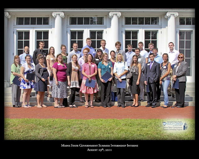2011 Interns with the Maine State Government Summer Internship Program