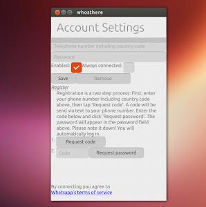 Whosthere su Ubuntu 13.04