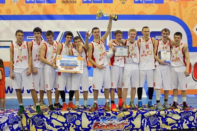 Команда Углича - победитель регионального финала Ярославской области Чемпионата ШБЛ КЭС-БАСКЕТ