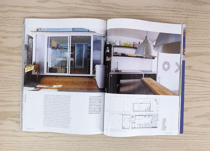 desde aqu agradecer a la revista por habernos dado la oportunidad de aparecer entre las pginas en las que arquitectos de la talla de frank gehry