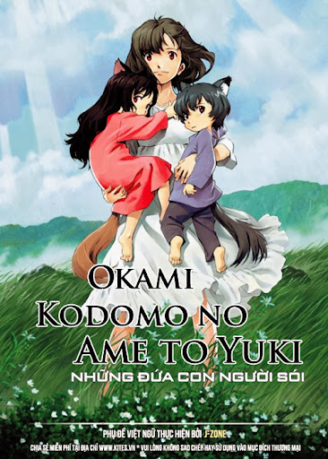 Hai Đứa Con Của Chó Sói - The Wolf Children Ame And Yuki