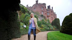 Our weather girl loves Powis Castle