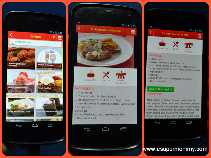 My Great Food Mobile App