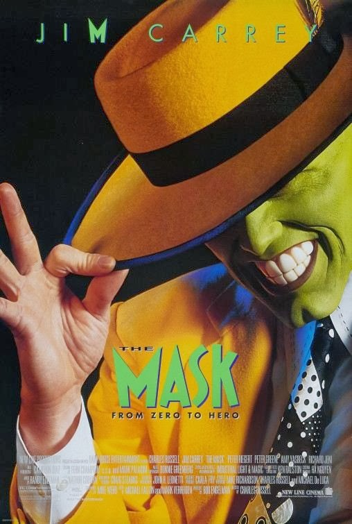 Poster Of The Mask (1994) Full Movie Hindi Dubbed Free Download Watch Online At Alldownloads4u.Com