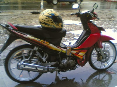 motor astrea grand modifikasi
