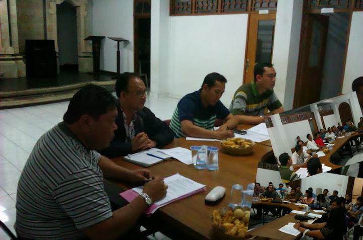 Rapat Panitia HUT 79 GNH Perdana