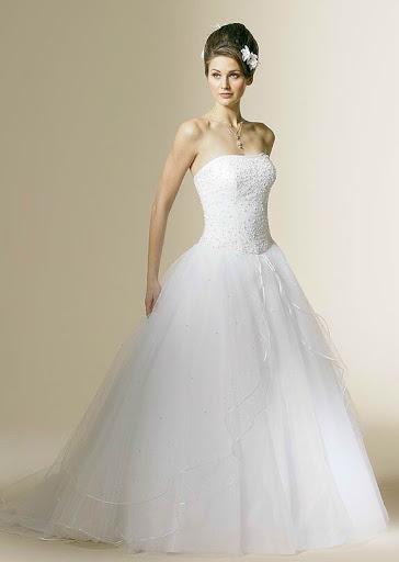 Schöne Strapless Hochzeitskleider - WedImpression