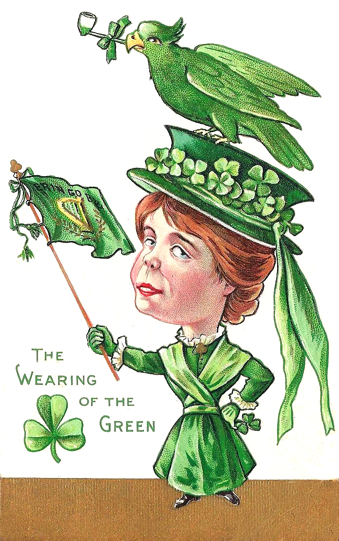 Image result for wearing o' the green