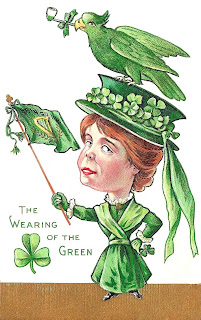 Image result for wearing of the green