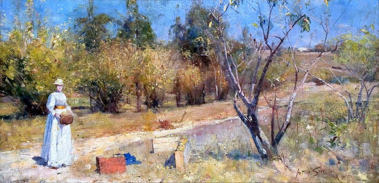 Arthur Streeton - Autumn, 1889
