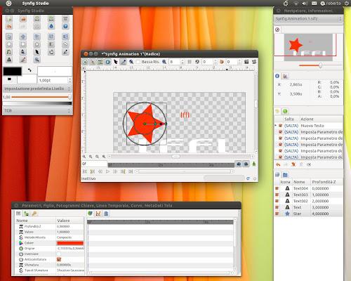 Synfig Studio su Ubuntu