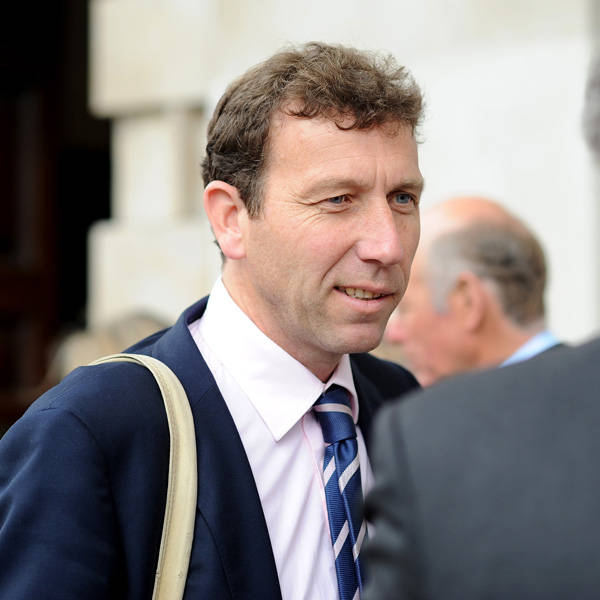 Former England cricketer captain Michael Atherton during the memorial Service for Tony Greig, in London, on June 24, 2013.