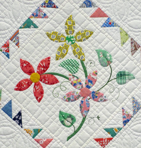 DAISY PATTERN QUILT - CLOTHES PATTERNS