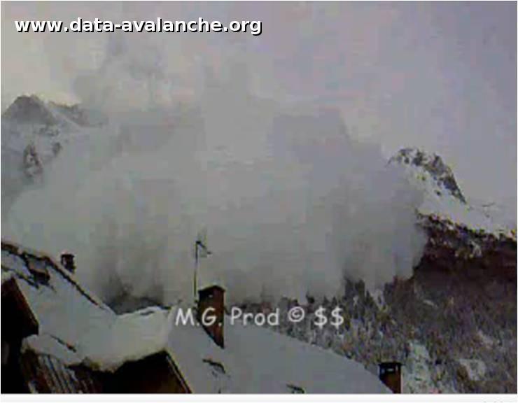 Avalanche Oisans, secteur La Meije, Glacier de la Meije - Photo 1