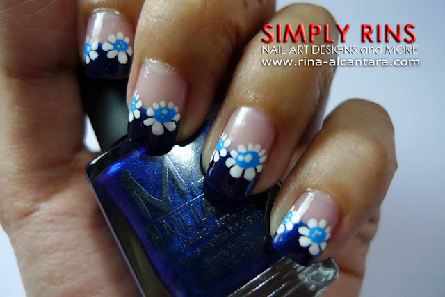Feeling Blue Nail Art Design 01