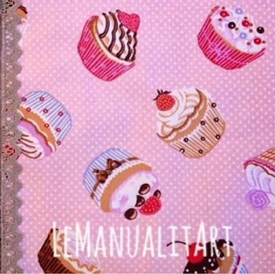Porta bizcochos de tela home made Sweet Cupcakes