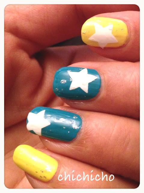 星星指甲。。