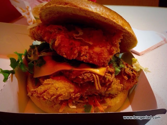 KFC Secret Menu Ultimate Zinger