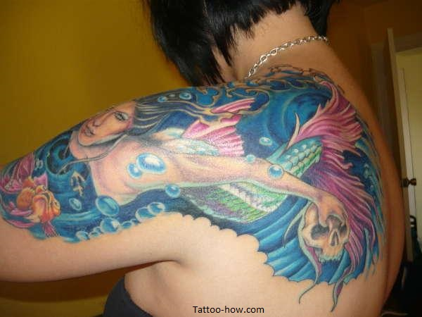 mermaid tattoo ideas
