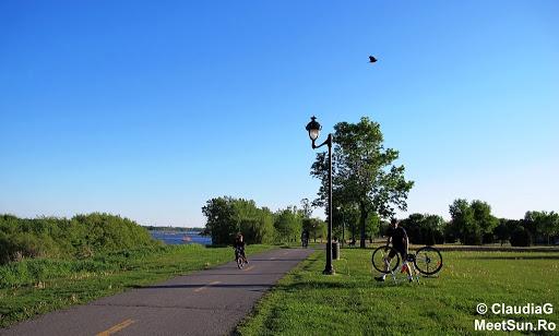 Montreal in luna mai. Alergare si bicicleta.