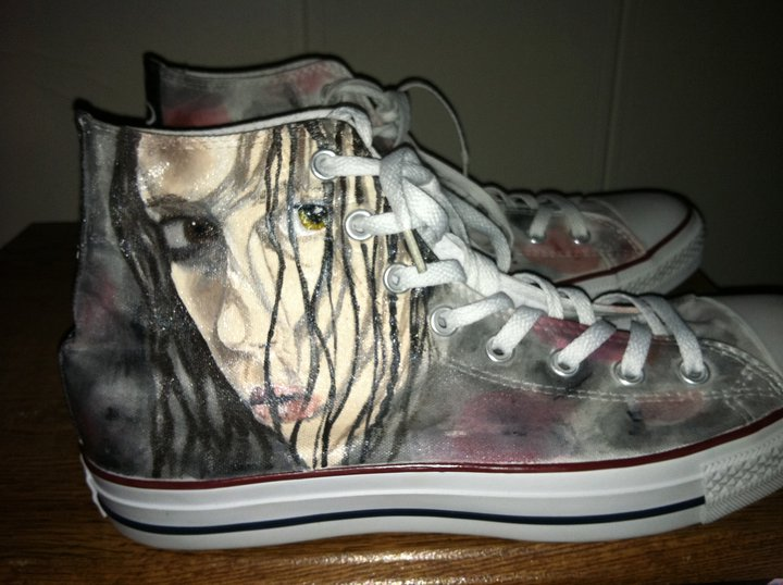 River Tam custom made shoes - Summer Glau