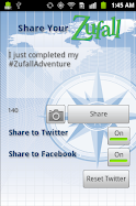 Zufall for Android allows for photo sharing