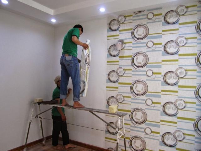 Đơn hàng dán giấy tường cần 3 nam làm việc tại Chiba Nhật Bản tháng 06/2017