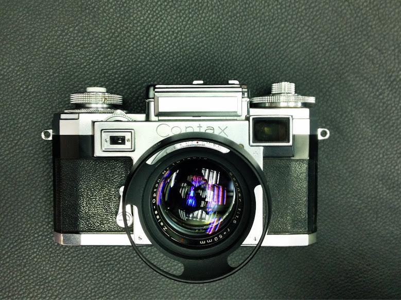 CONTAX III入手配CZJ sonnar 50mm f2試玩