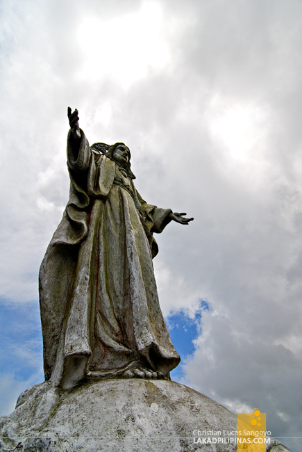 Jesus Christ Sculpture at Tagaytay's People's Park in the Sky