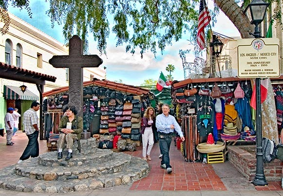 Los Angeles: Downtown y Olvera Street