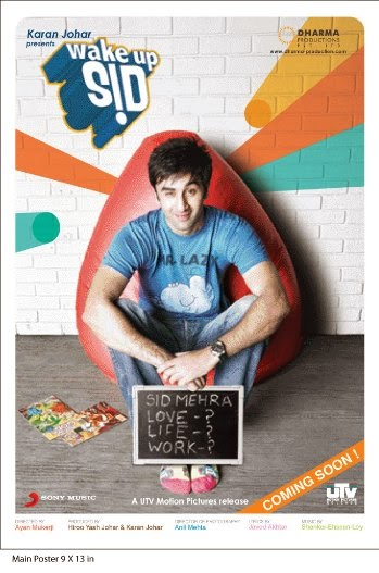 Poster Of Hindi Movie Wake Up Sid (2009) Free Download Full New Hindi Movie Watch Online At Alldownloads4u.Com