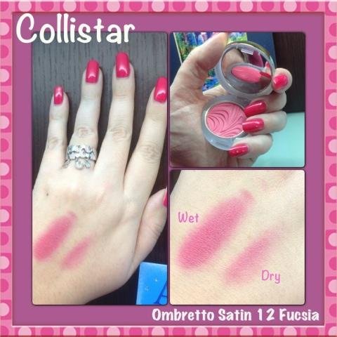 Collistar Ombretto Satin Primer + Colore nr. 12 Fucsia