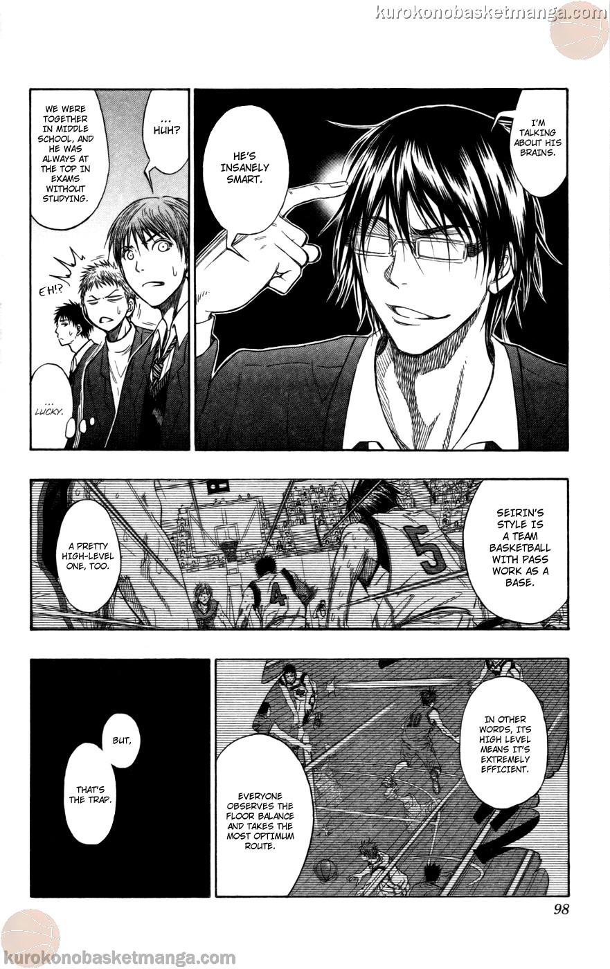 Kuroko no Basket Manga Chapter 104 - Image 12