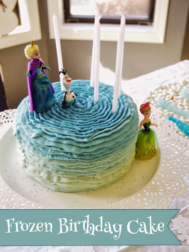 Disney frozen cake, frozen birthday party