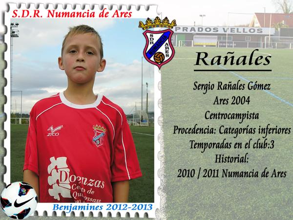 ADR Numancia de Ares. Sergio Rañales.