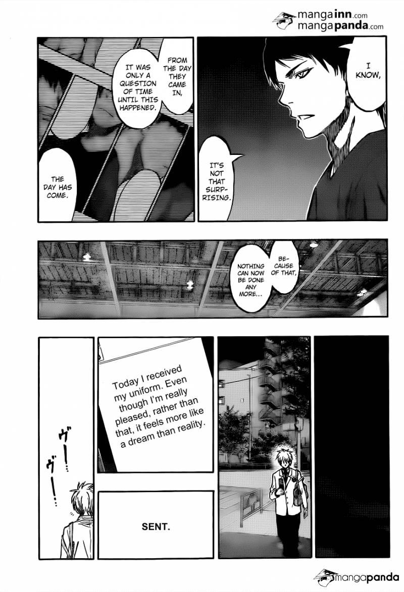 Kuroko no Basket Manga Chapter 210 - Image 11