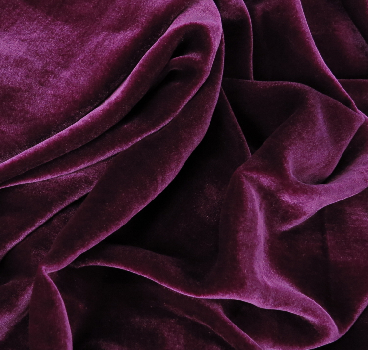 an image of purple velvet