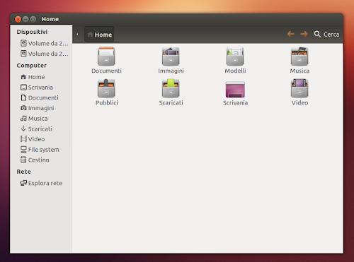 My-Humanity su Ubuntu 12.10 - Nautilus