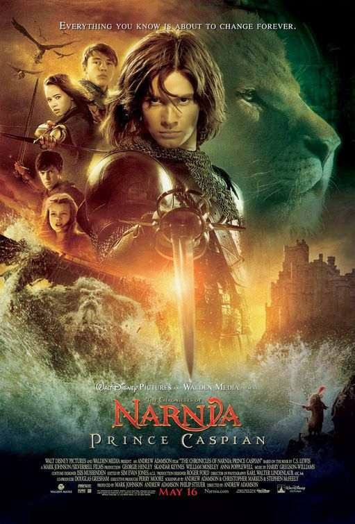 Poster Of The Chronicles of Narnia 2 (2008) Full Movie Hindi Dubbed Free Download Watch Online At Alldownloads4u.Com