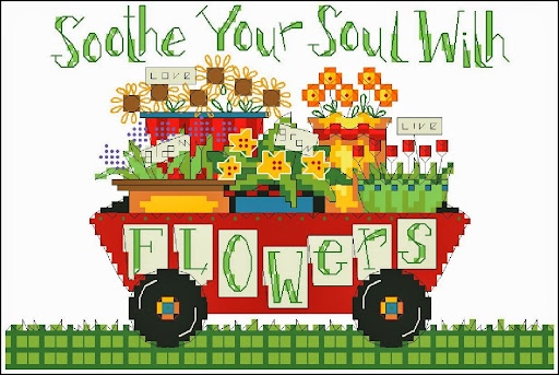Soothe your soulcross stitch pattern