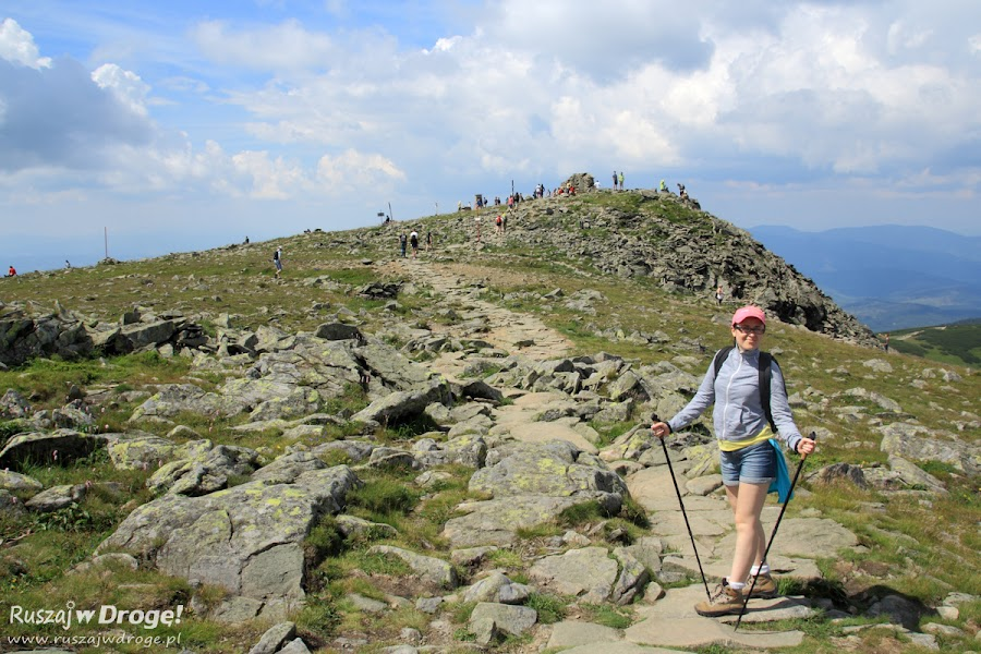 W drodze na szczyt Babiej Góry
