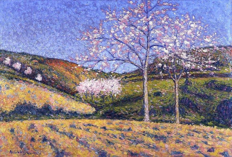Achille Laugé - Amendiers en Fleurs