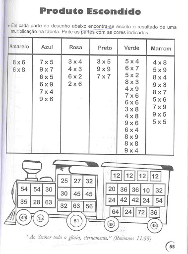 Atividades De Matematica 4º Ano Ensinando Com Carinho