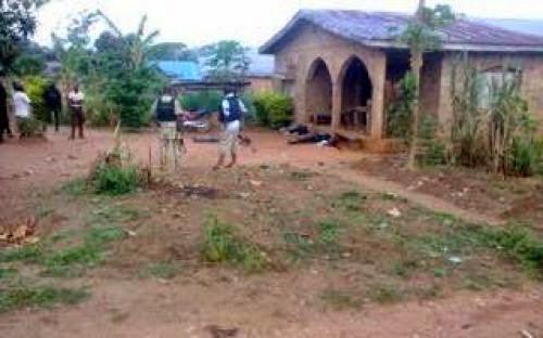 Policeman Kills Self Wife 5 Others Over Marital Dispute In Abeokuta